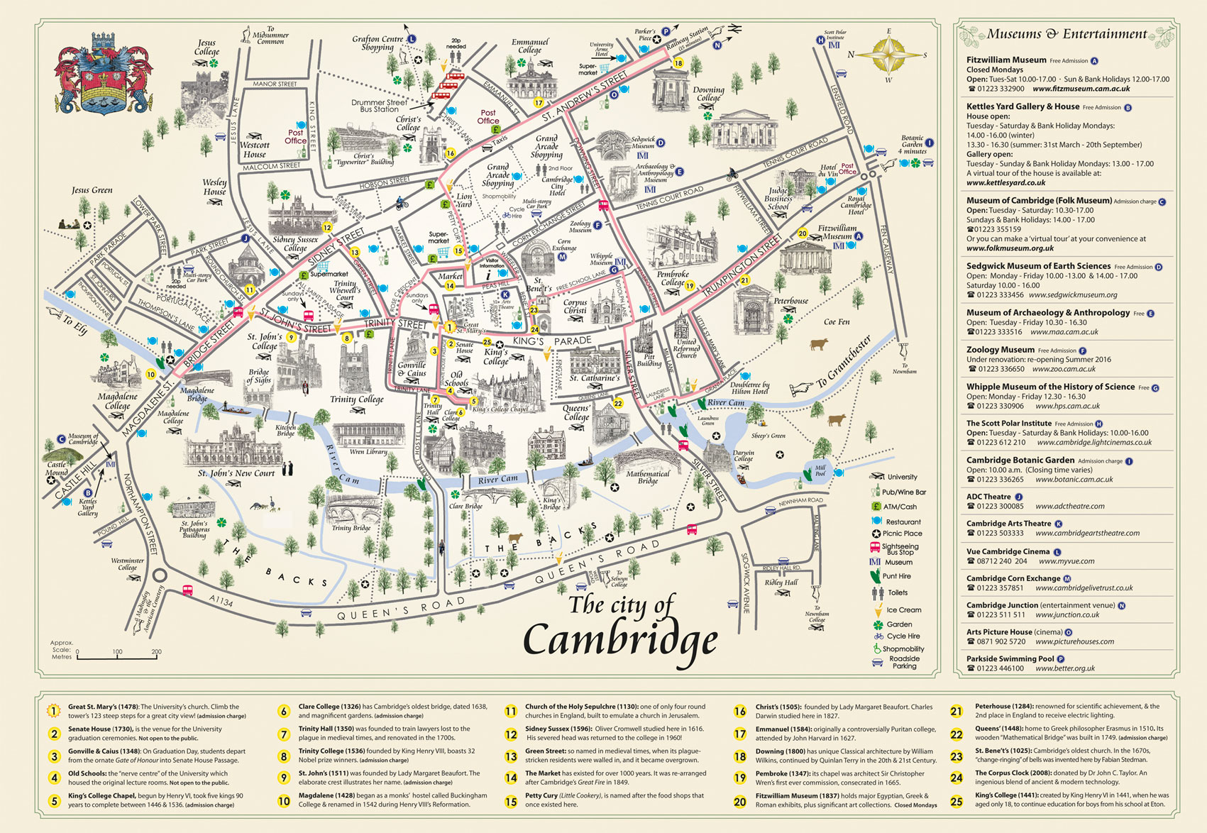 Welcome to Cambridge Map